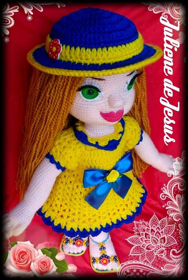 crochet-knitted-doll