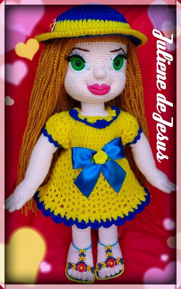 crochet-made-doll
