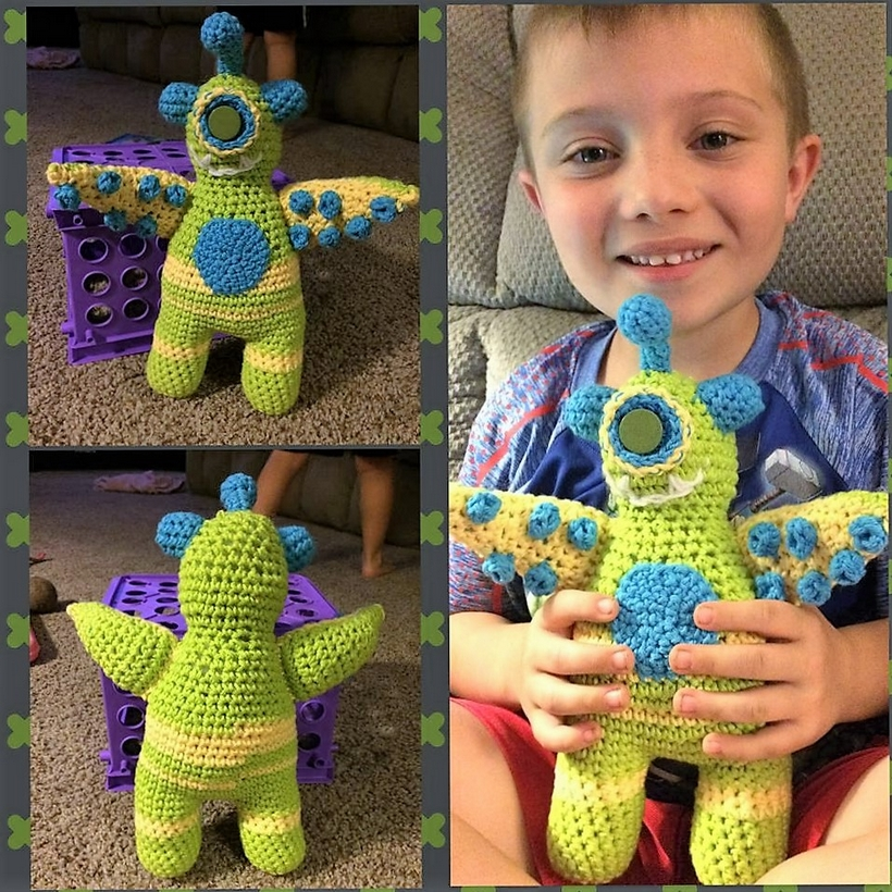 crochet-monster