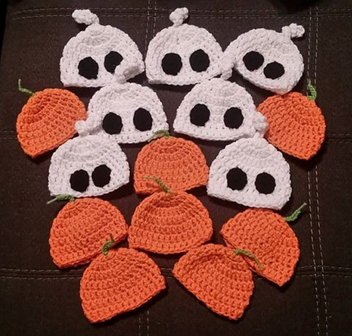 crochet-nicu-hats