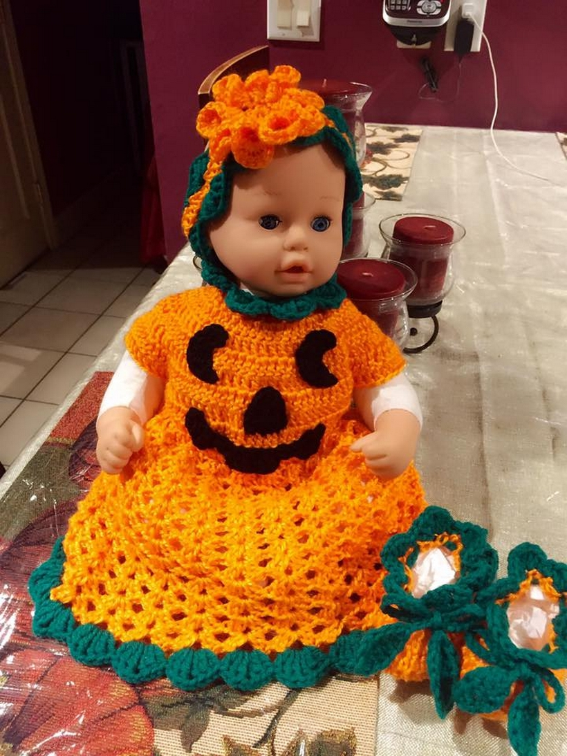 crochet-pumpkin-dress