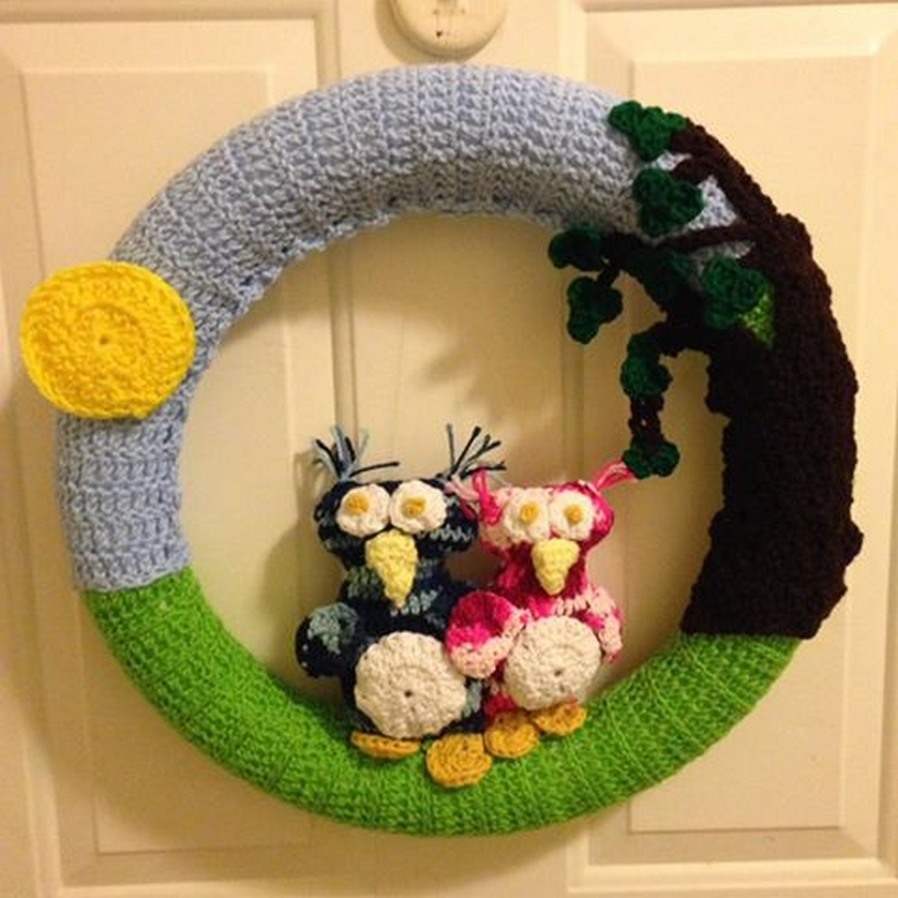 crochet-wreath