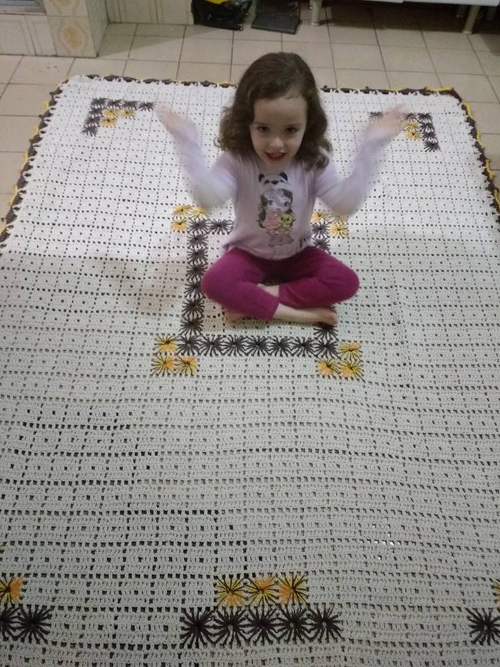 Crocheted Rug Carpet