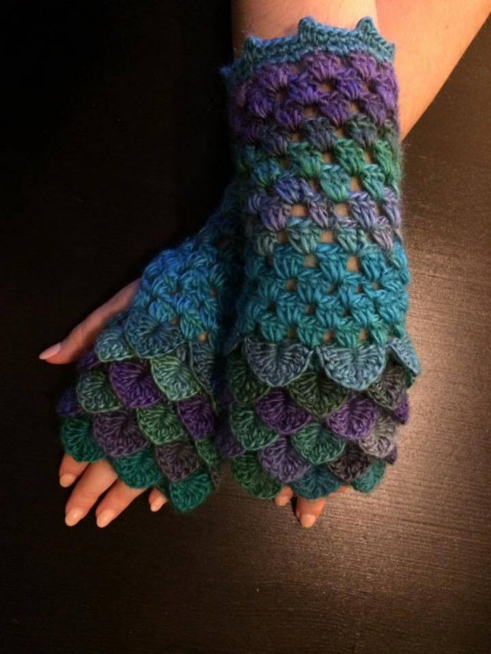 crocheting-gloves