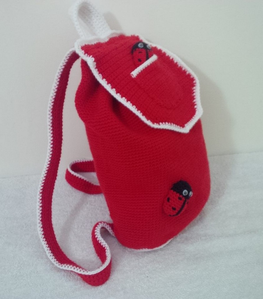 red-crochet-backpack