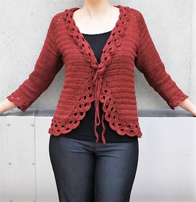16-crochet-triple-stitch-cardigan-jacket
