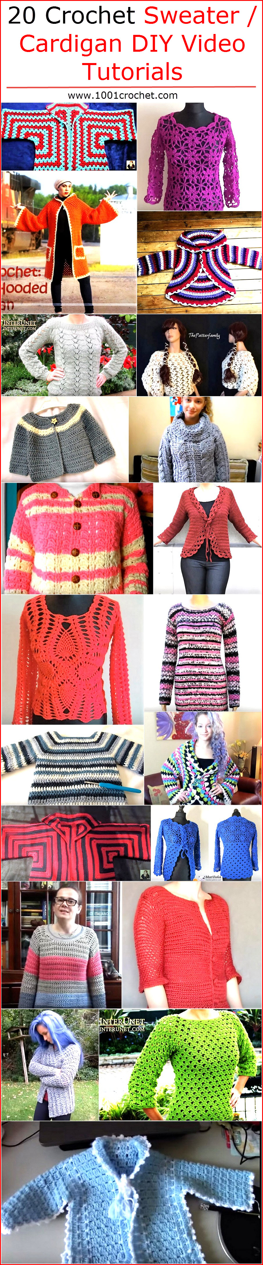 20-crochet-sweater-cardigan-diy-video-tutorials