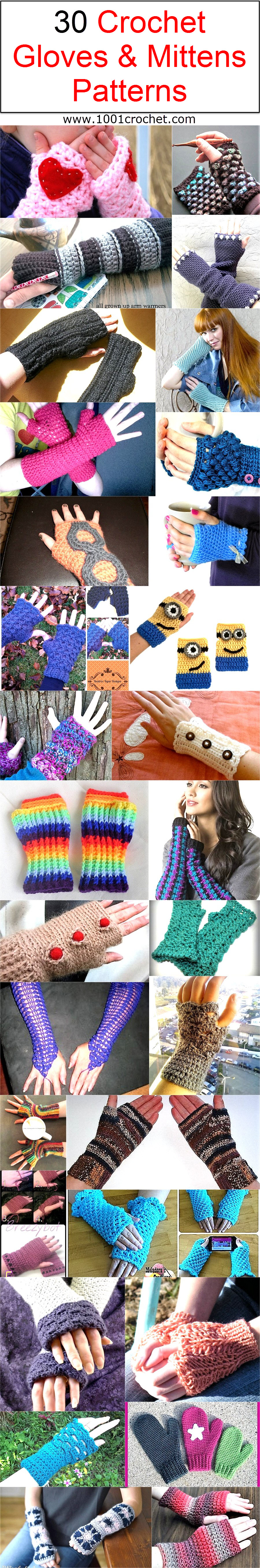30-crochet-gloves-mittens-patterns