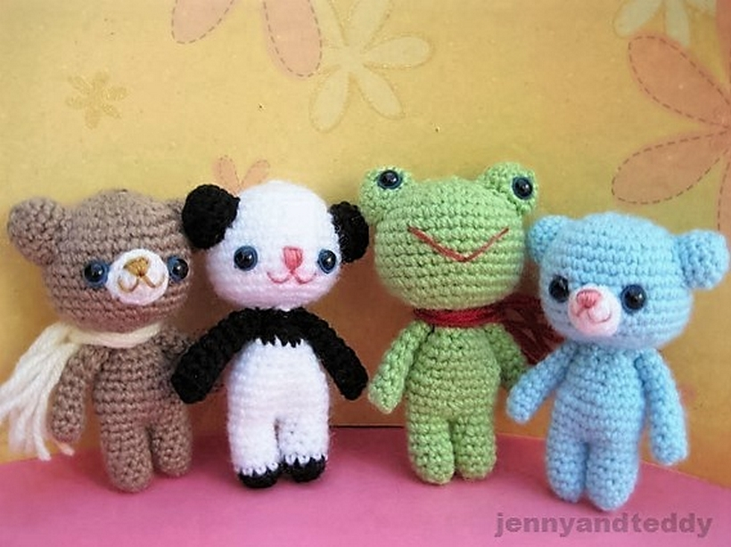 brownie-bear-and-his-friends-free-amigurumi-pattern