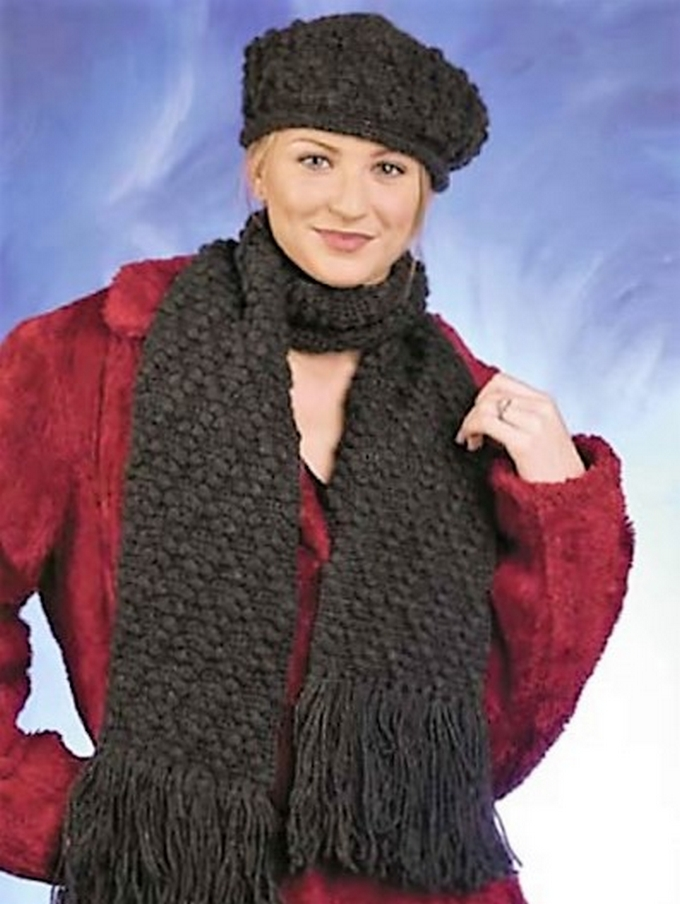 diamond-hat-scarf-crochet-pattern