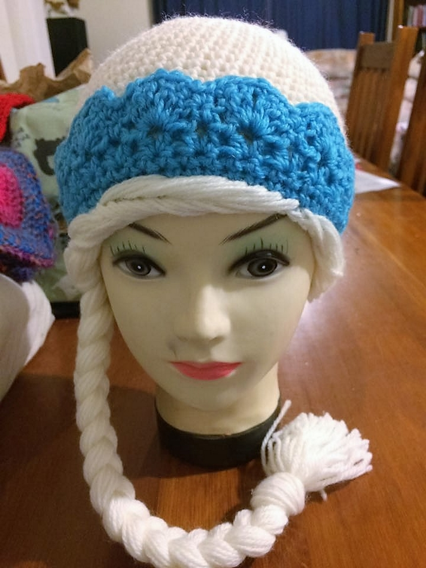 Homemade Crocheted Hats for Kids