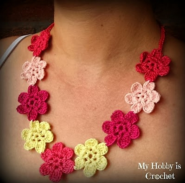 Free Patterns for Crocheted Jewelry