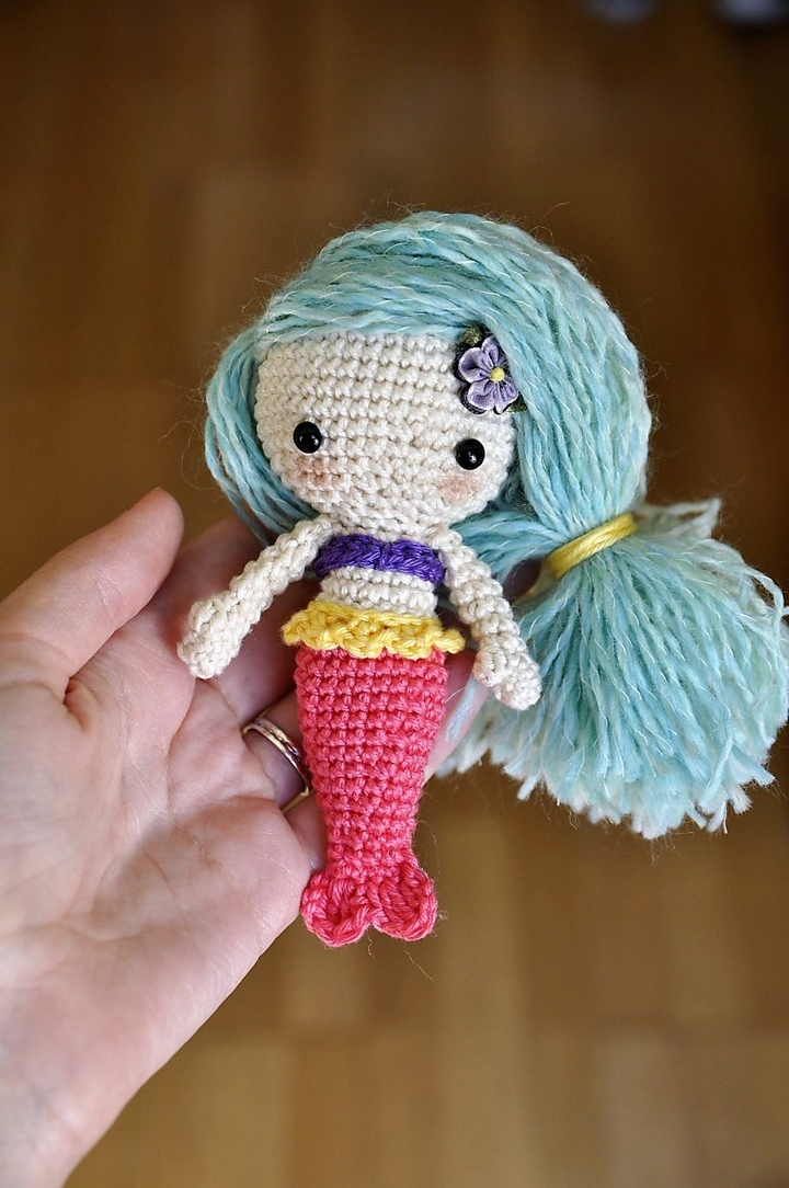 mermaid-free-pattern