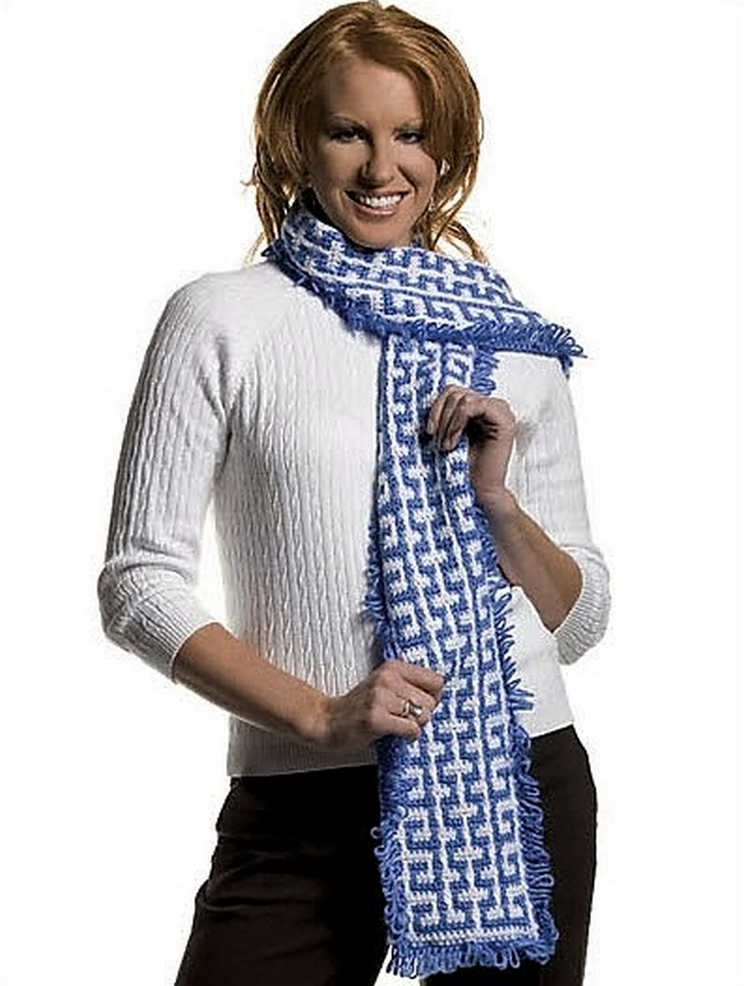 mosaic-crochet-scarf