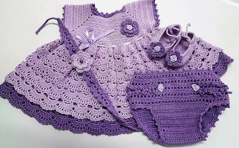 Handmade Crochet Baby Set Inspirations