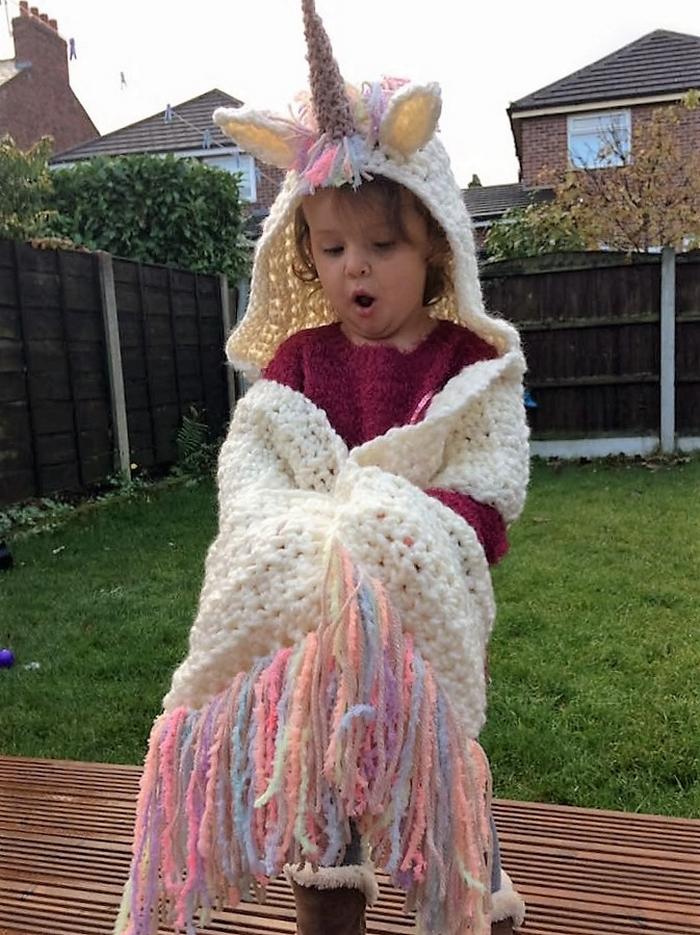 crochet-hood