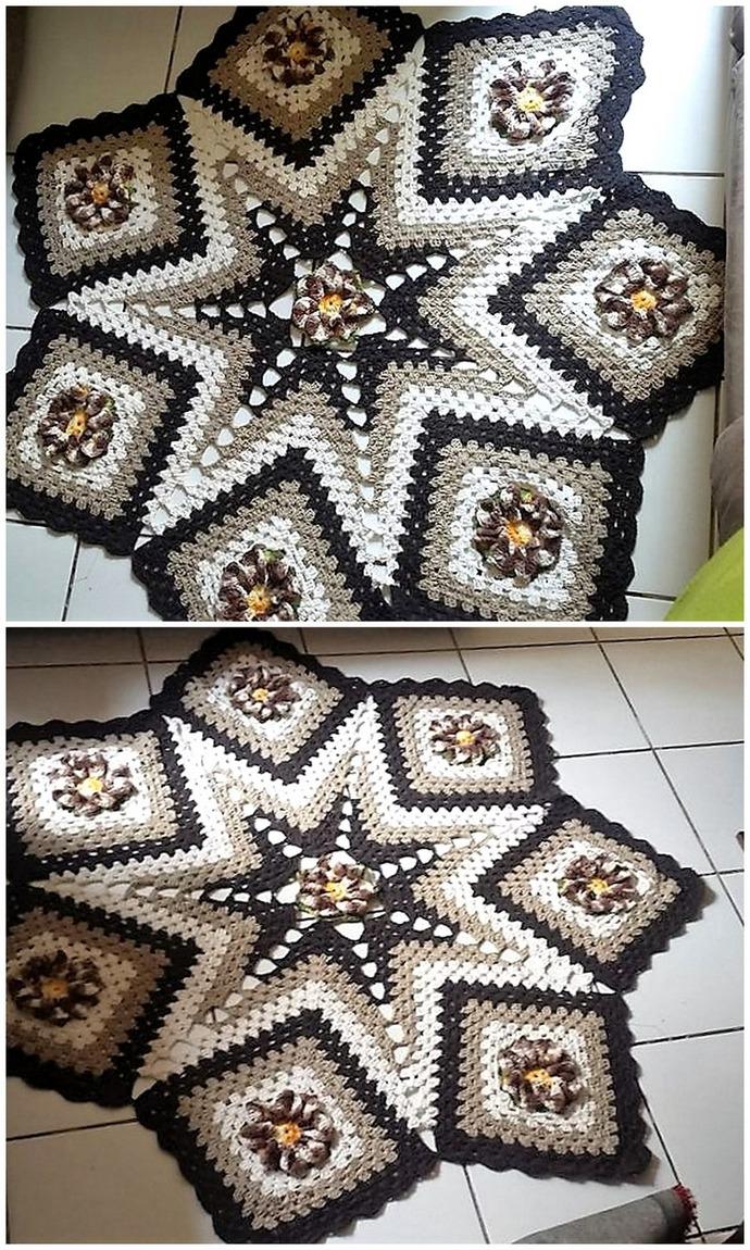 Design Inspirations for Crocheted Rugs | 1001 Crochet