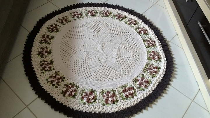 Cute Crocheted Rug
