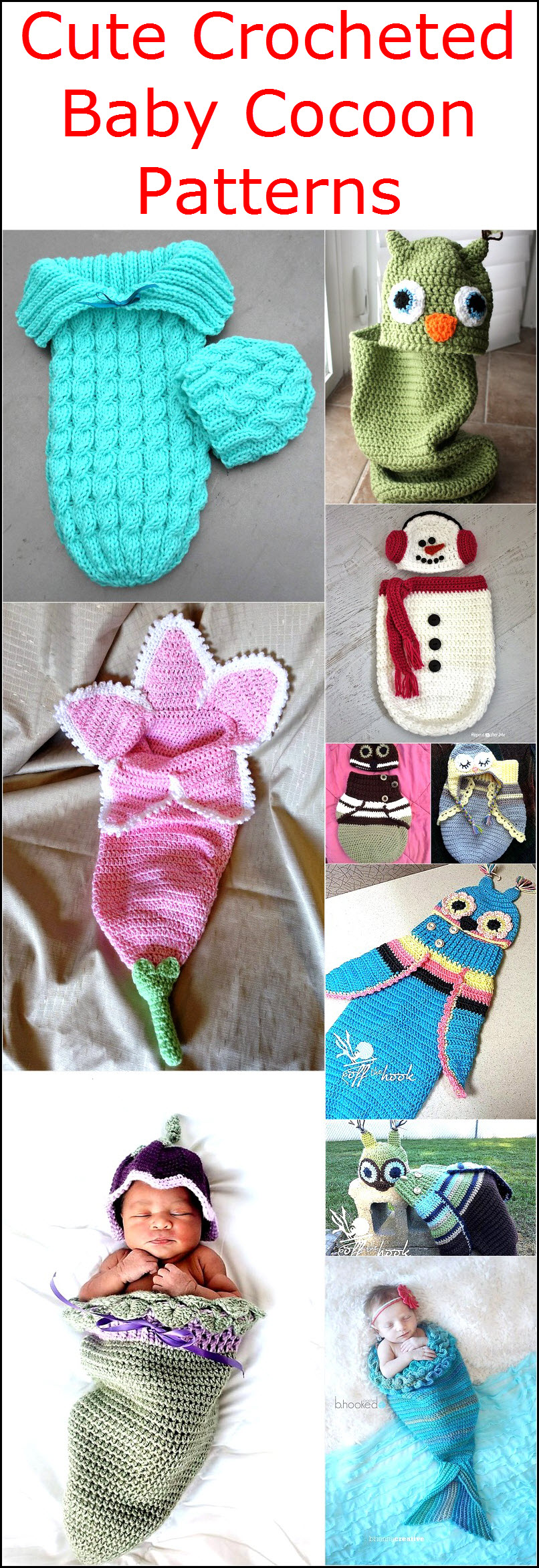 cute-crocheted-baby-cocoon-patterns