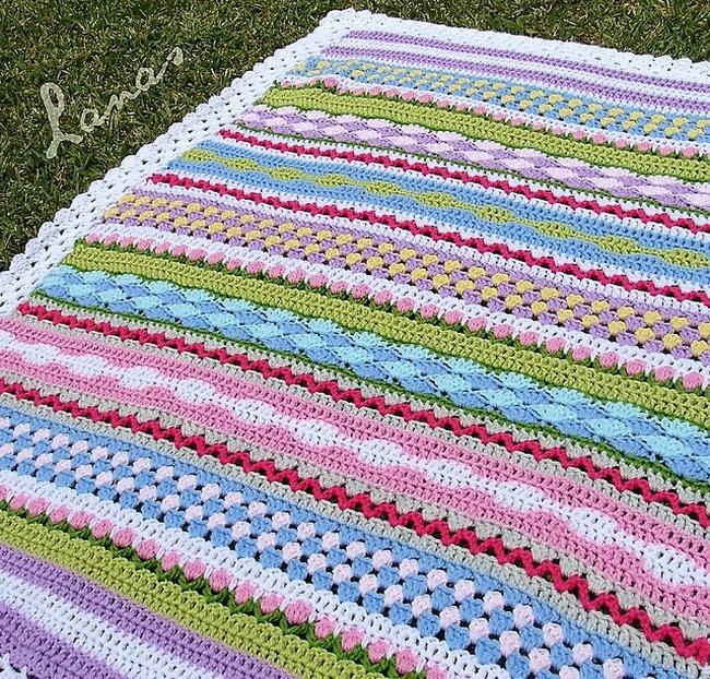 Quick And Easy Crochet Blanket Patterns 1001 Crochet