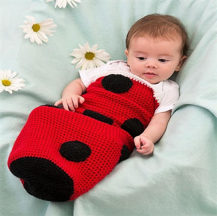 ladybug-baby-cocoon