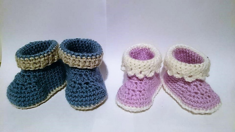 crocheted-baby-booties-2