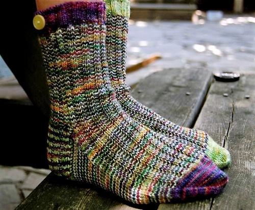 A Study in Scraps Sock