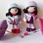 Autumn Girls crochet pattern