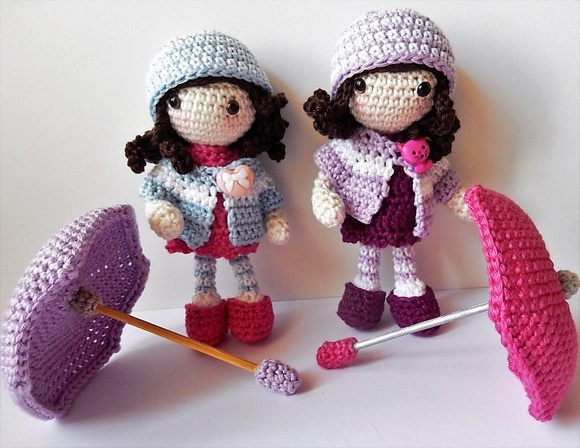 Autumn Girls crochet pattern
