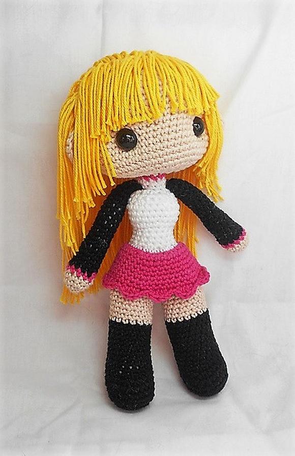 Female doll base pattern