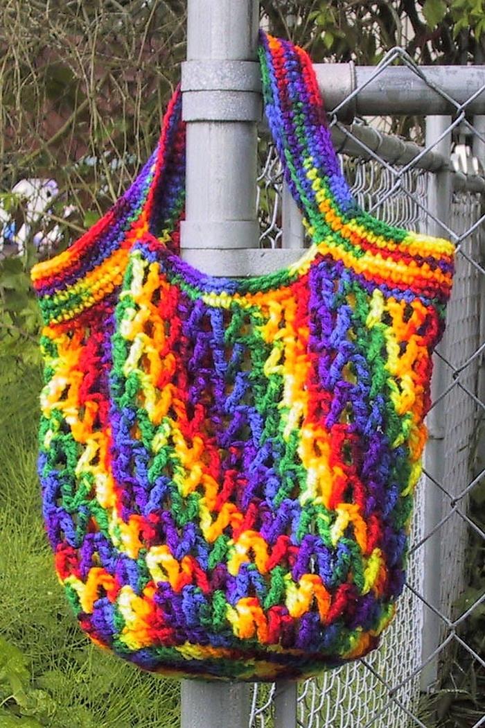 Awesome Handmade Crocheted Bag Patterns 1001 Crochet