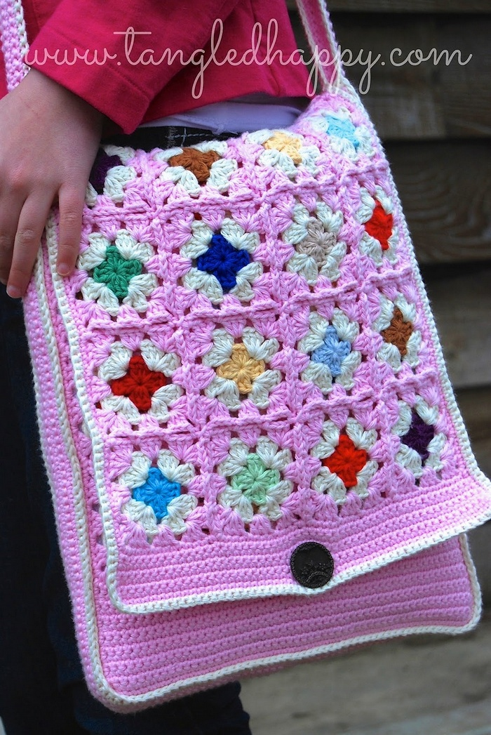 Awesome Handmade Crocheted Bag Patterns 1001 Crochet