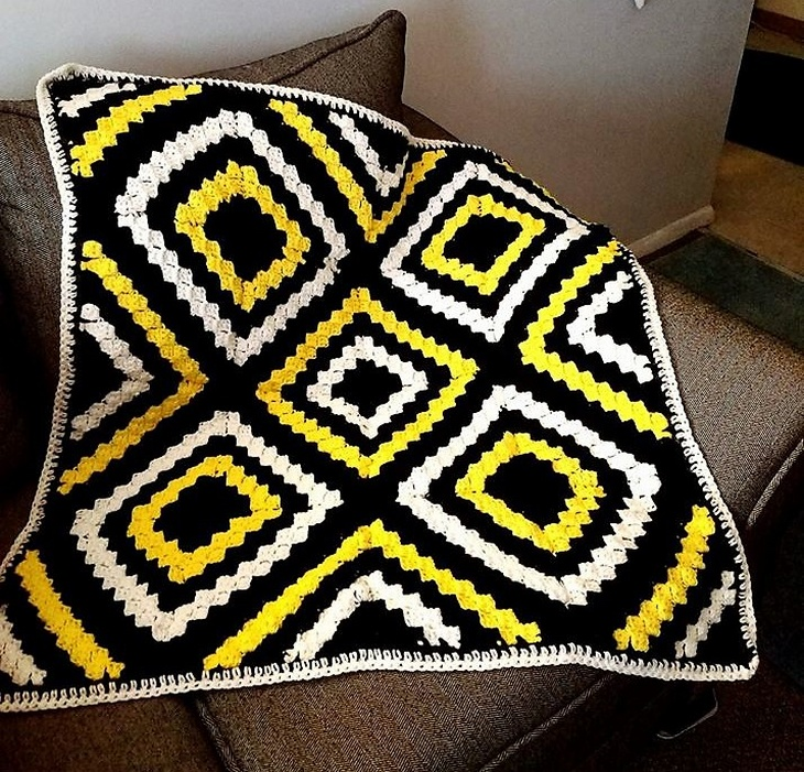 crochet blanket ideas 12