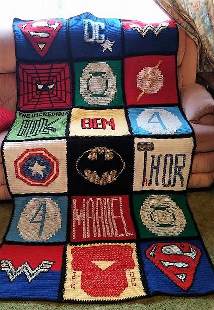 crochet blanket ideas 23