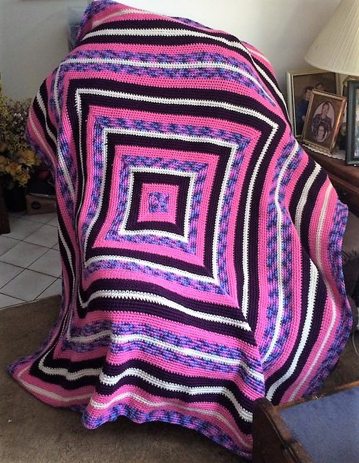 crochet blanket ideas 8