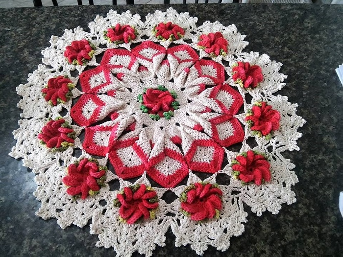 crochet table runner 4