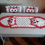 crochet table runner 6