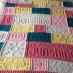 crocheted baby blanket 19