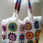 crocheted bag 17