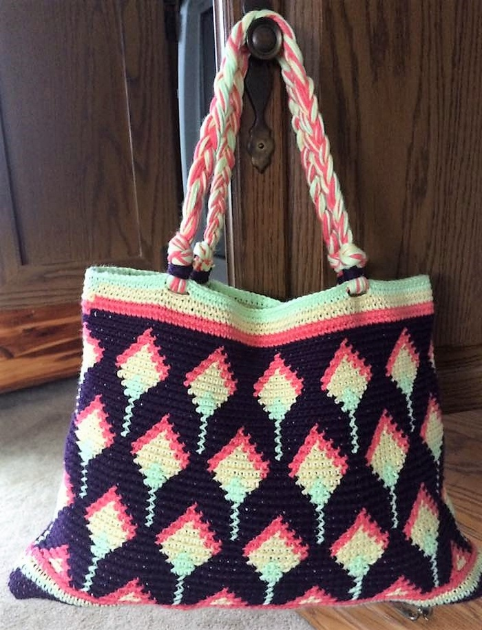 crocheted bag 19