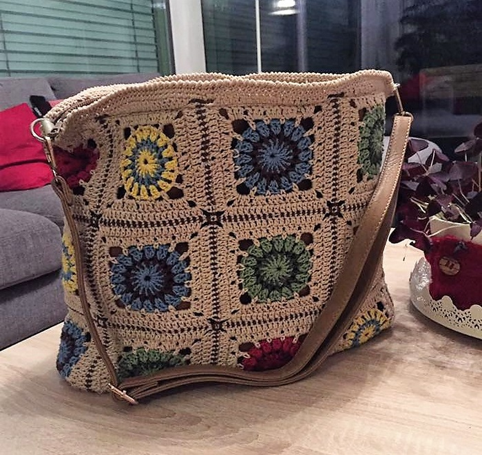 crocheted bag 2