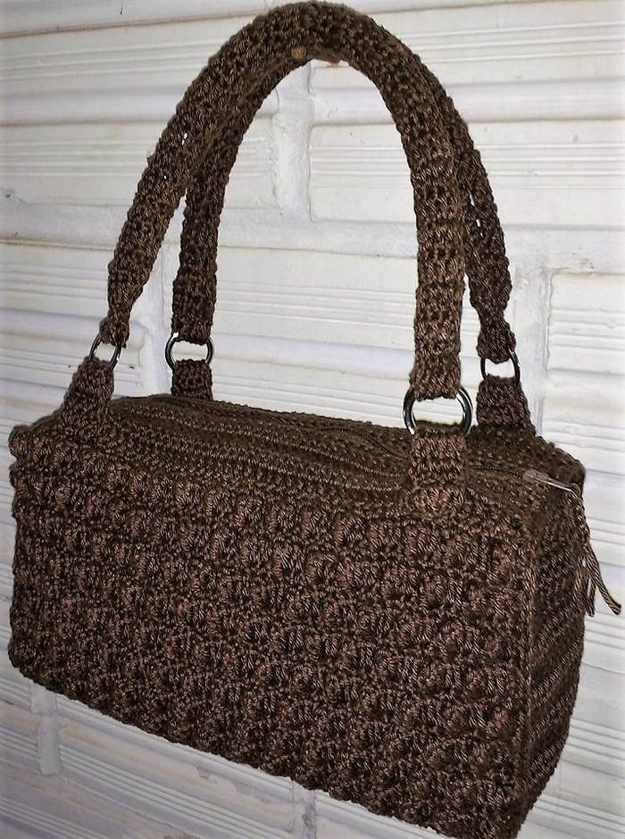 crocheted bag 4