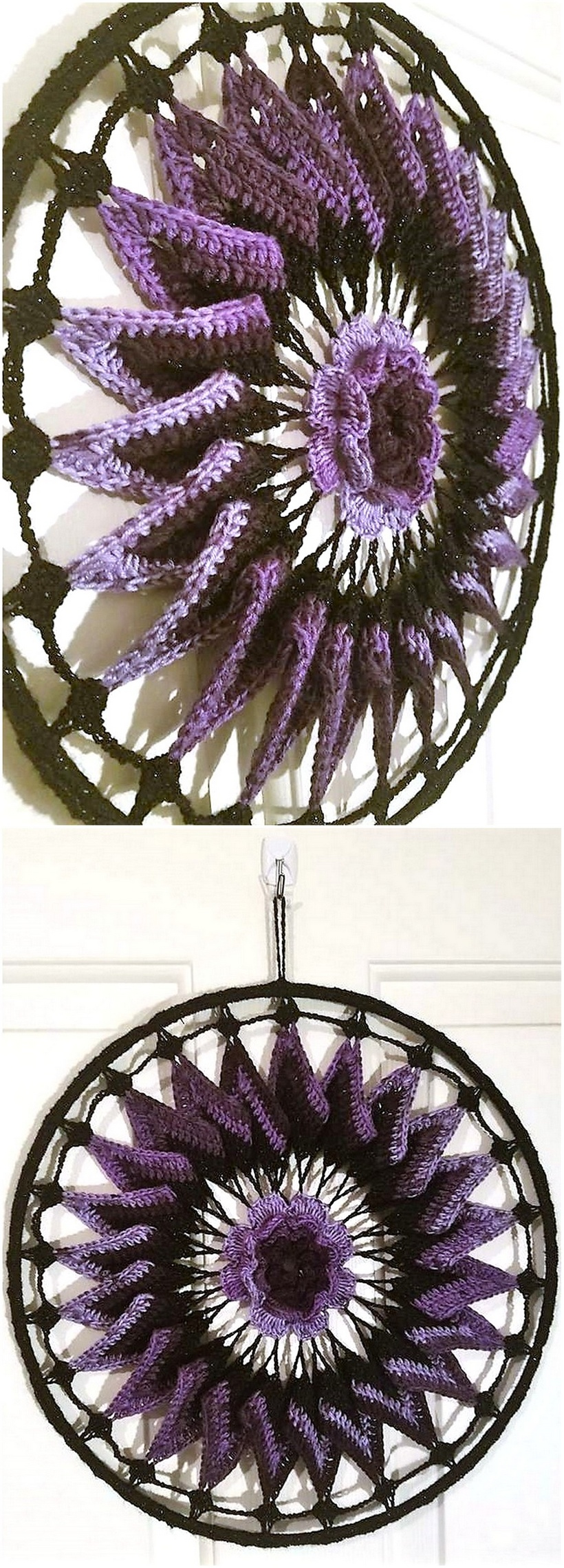 crochet dreamcatcher 1