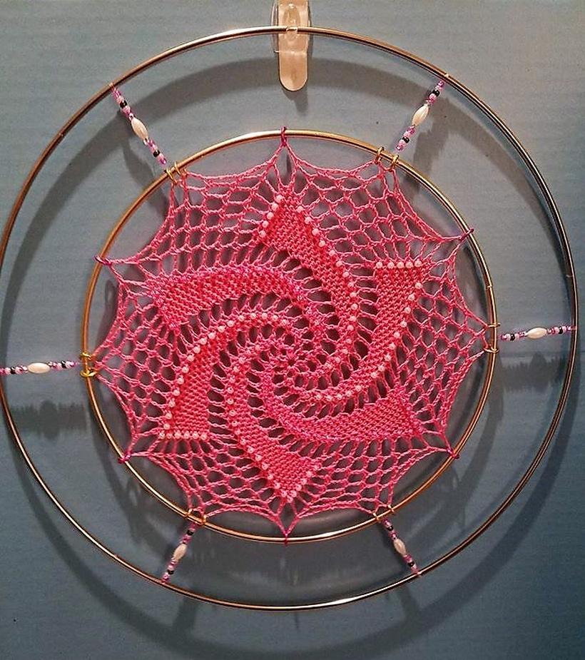 crochet dreamcatcher 10