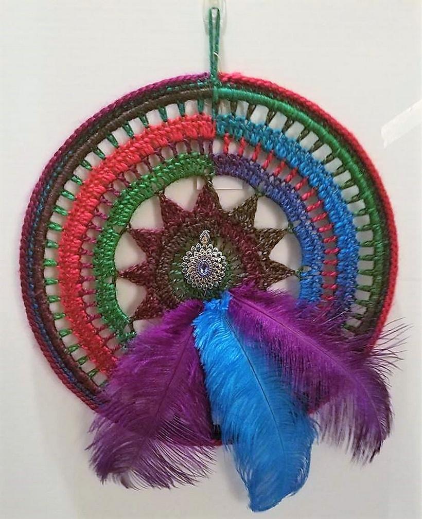 crochet dreamcatcher 11