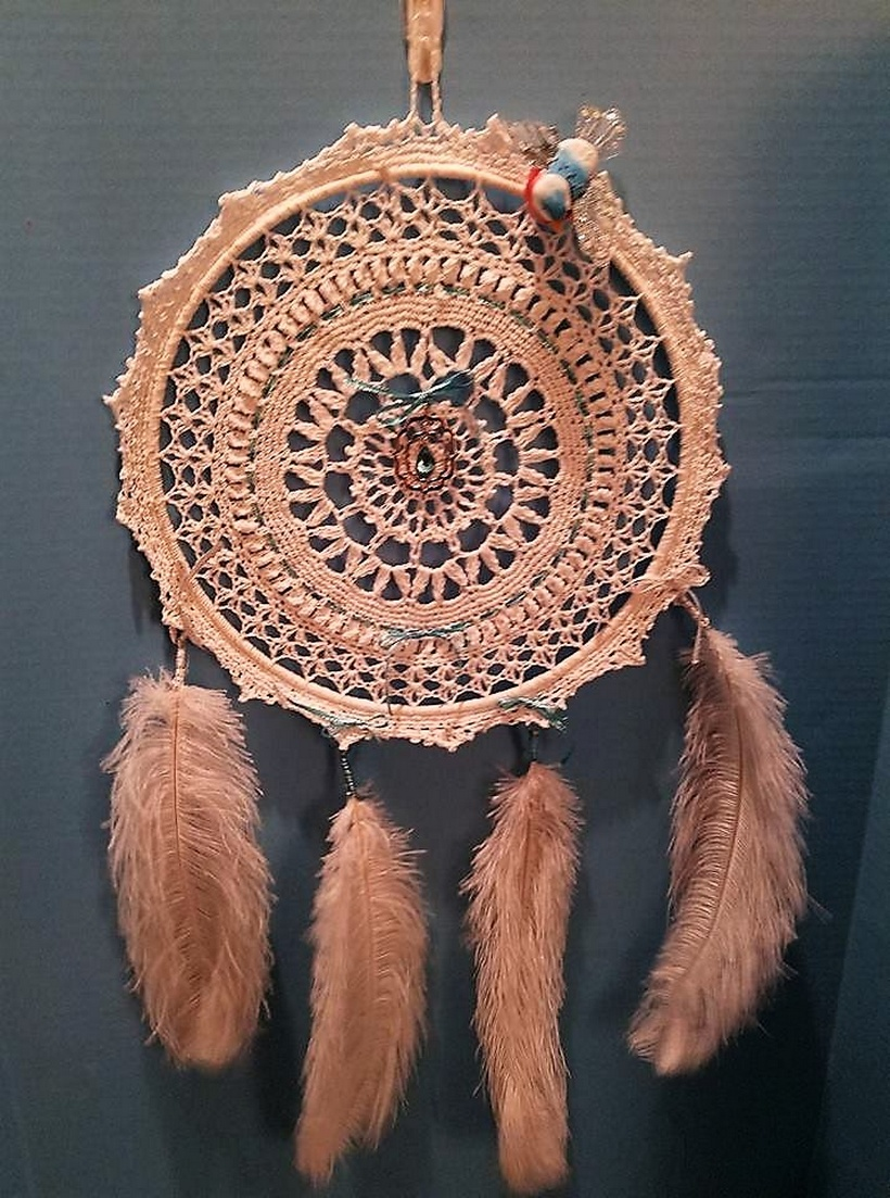 crochet dreamcatcher 12