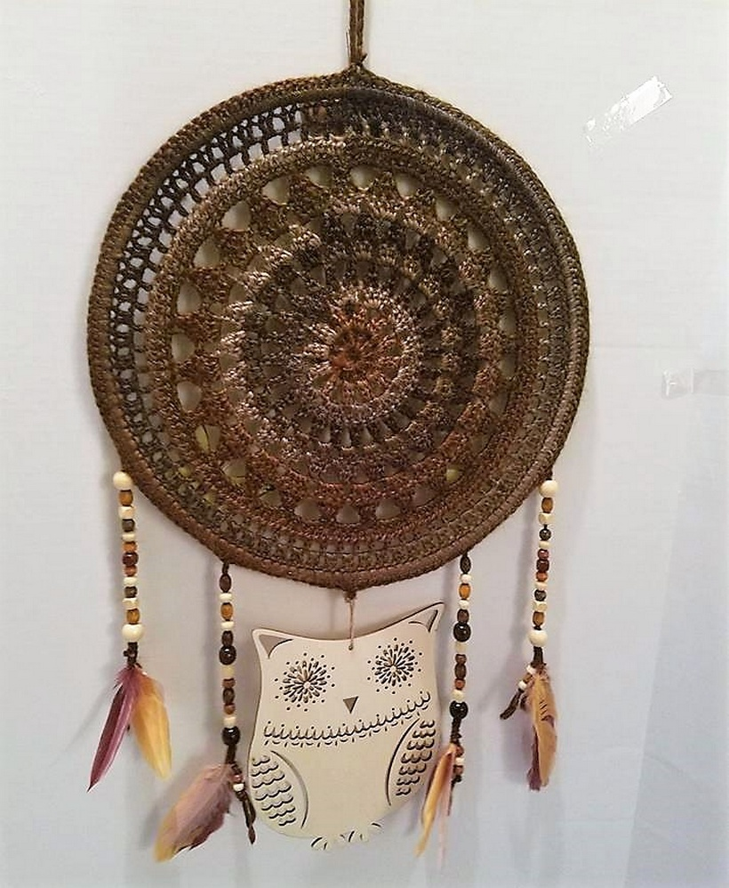 crochet dreamcatcher 14