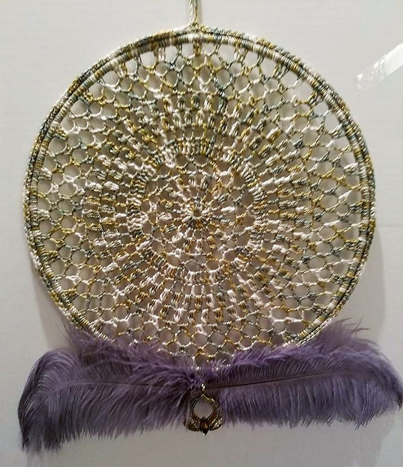 crochet dreamcatcher 16