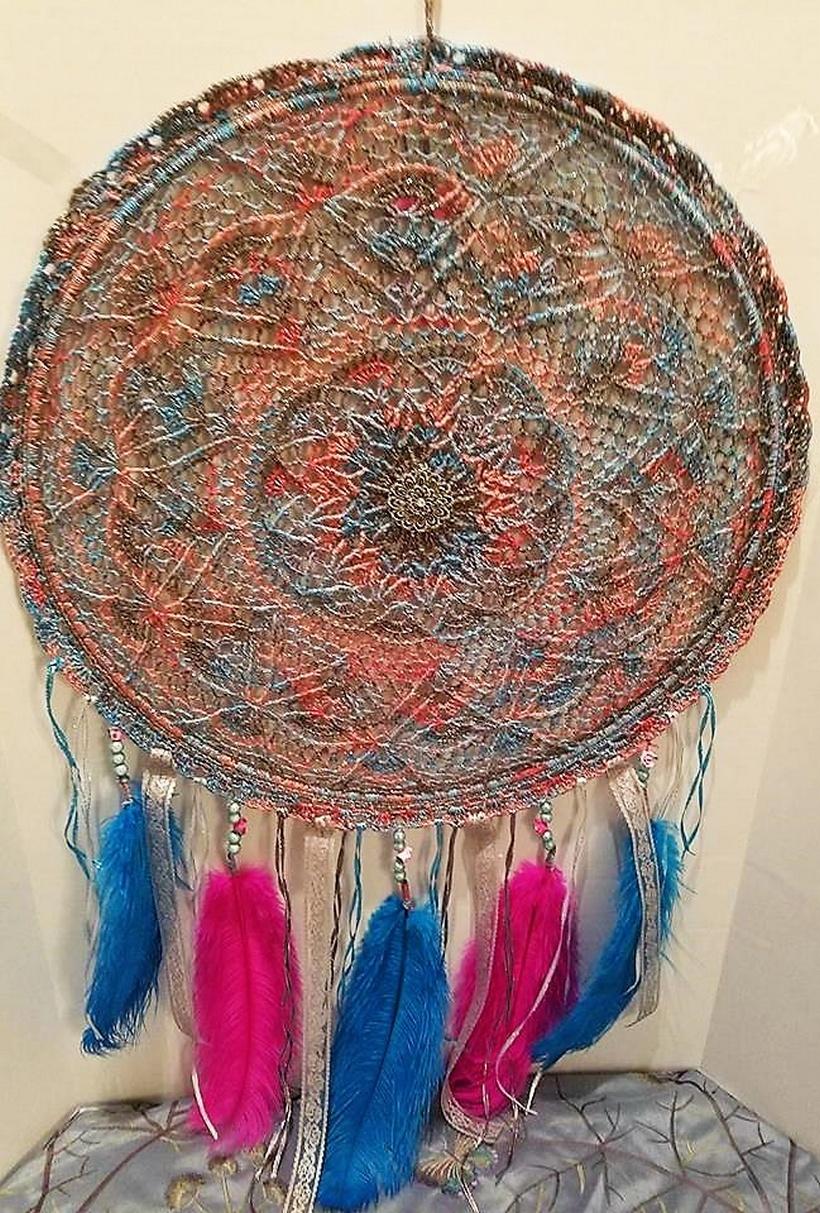 crochet dreamcatcher 17