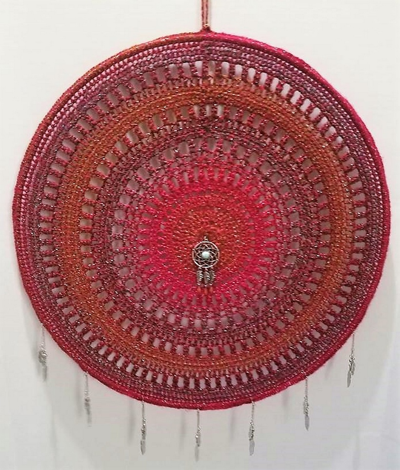 crochet dreamcatcher 18